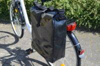 Fahrradtasche aus Tarpaulin