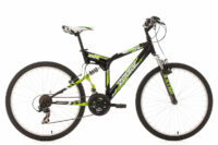 "MOUNTAINBIKE MTB FULLY 26"" ZODIAC SCHWARZ RH 48 CM KS CYCLING"