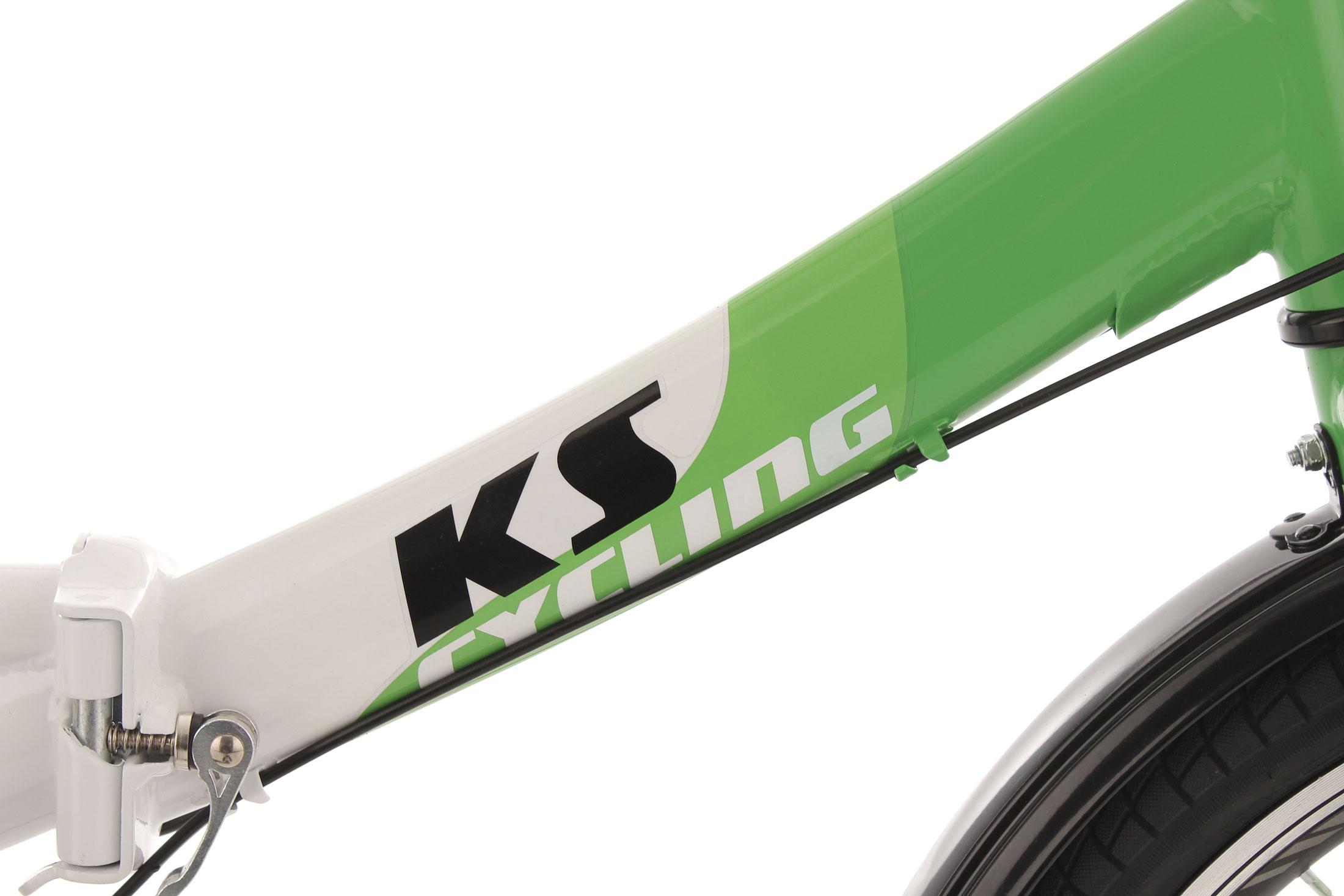 580B-KS-CYCLING-FALTRAD-KLAPPRAD-FX300-WEISS-GRUEN-Z-03
