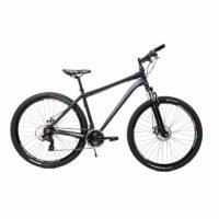 29 Zoll Alu Sachsenring MTB Crosser Fahrrad Shimano 21 Gang DISC Scheibenbremsen schwarz matt