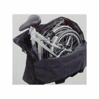 Tasche für Faltrad Klapprad Transport Trage und Packtasche Folding Bike Bag schwarz