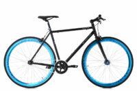 """FIXIE FITNESSBIKE 28"""" PEGADO SCHWARZ-BLAU RH 56 CM KS CYCLING"""