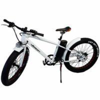 26″ Elektro Fatbike weiss, 6-Gang Shimano