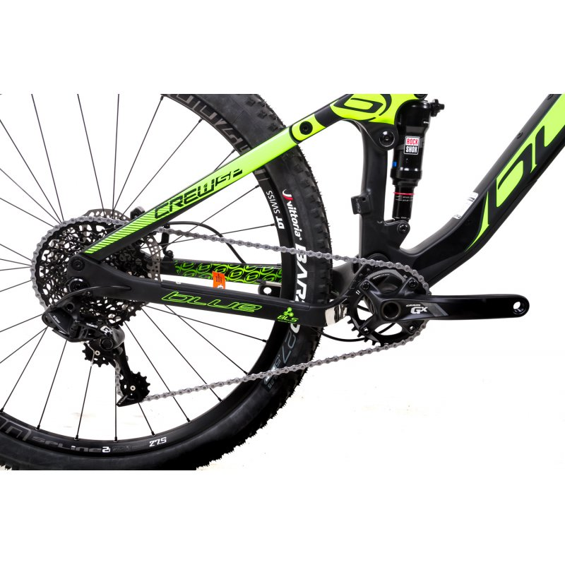 275-Zoll-Blue-Bike-Crew-Mountainbike-Fahrrad-Bike-Carbon-11-Gang-Sram-GX-Gr-M-L_b2