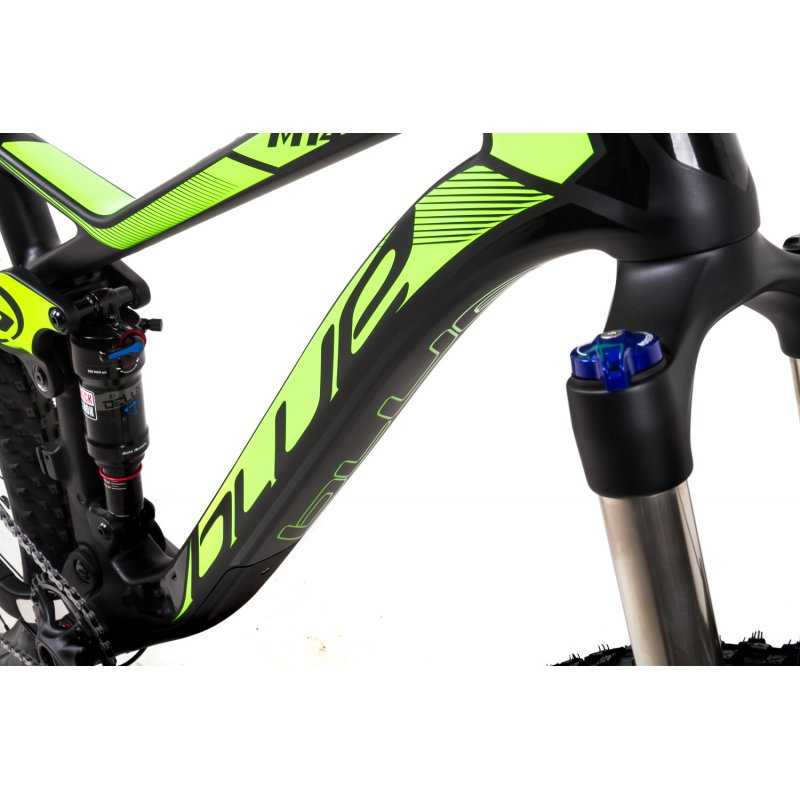 275-Zoll-Blue-Bike-Crew-Mountainbike-Fahrrad-Bike-Carbon-11-Gang-Sram-GX-Gr-M-L_b6