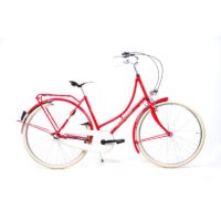 28 Zoll Holland Fahrrad Nostalgie City Bike Shimano 3 Gang Nexus Rücktritt rot