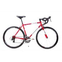 28 Zoll Retro Rennrad Fahrrad GIORDANO Race Bike SHIMANO 14 Gang Stahl Rh 56 cm rot