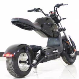 sportlicher Elektroroller 45km/h mit 1500W Motor und 20AH Akku