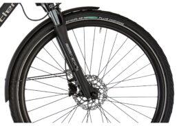 Ortler Montana Eco Herren schwarz matt, 50er Rahmen, Shimano STEPS