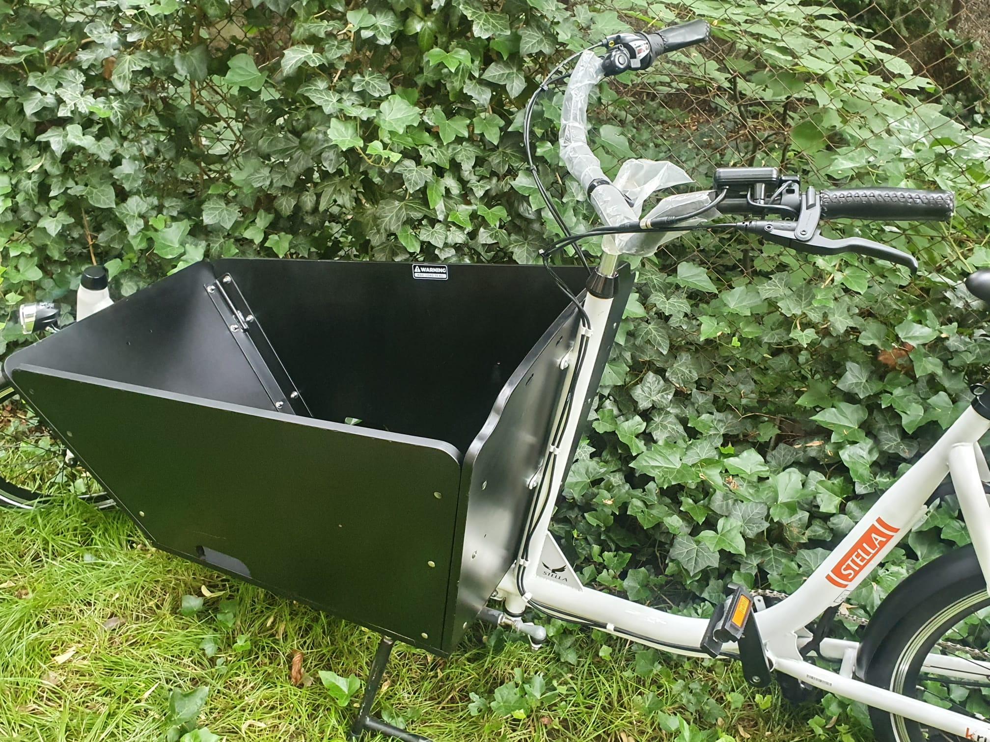 Stella Cargobike Lastrad E-Cargo, 25km/h
