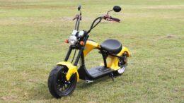 E-Scooter Harley Chopper 45km/h, gelb, Elektroroller